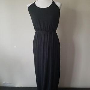 Banana Republic dress maxi black sz Small
